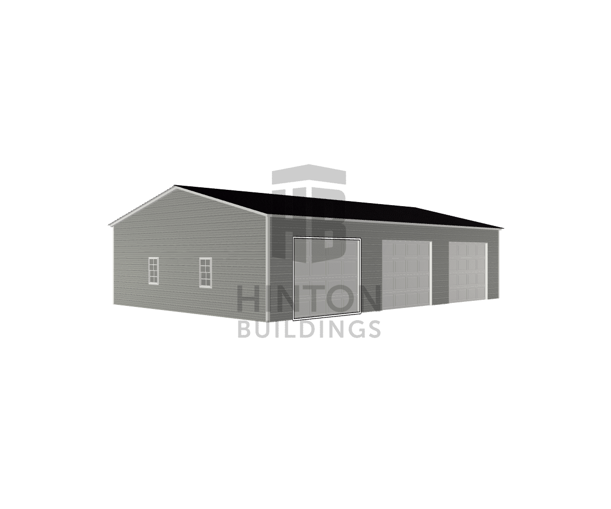 Chase from Pikeville, NC designed this 30x45x10 building with our 3D Building Designer.
