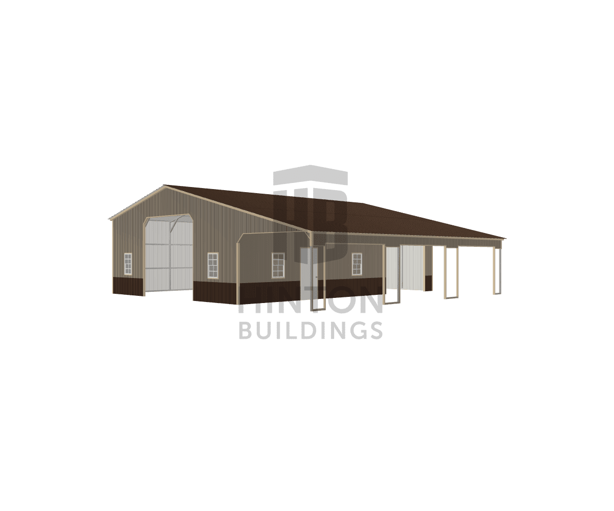 Tom from Davidson, NC designed this 30,12x40,40x11,8 building with our 3D Building Designer.