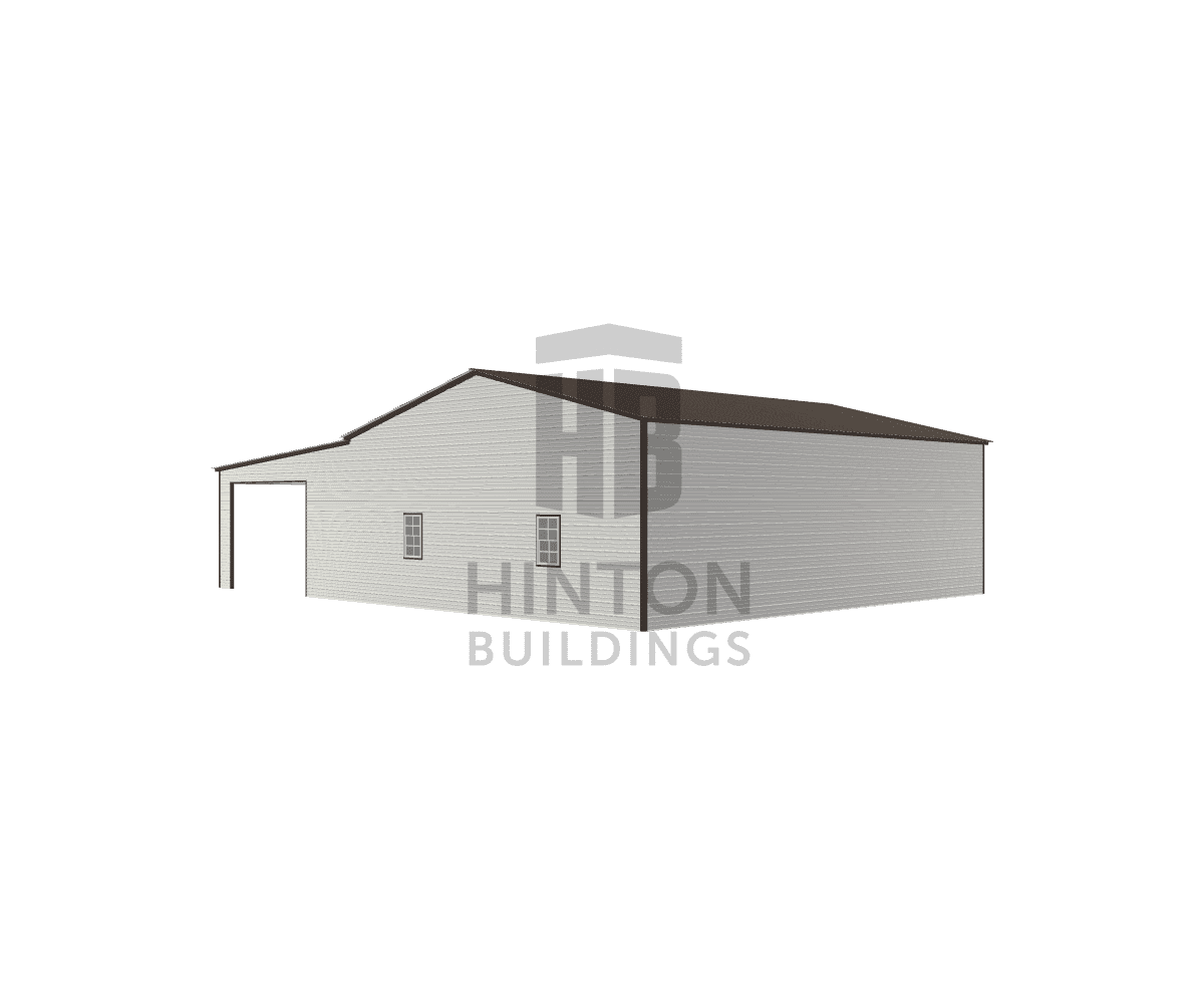 Hunter from SMITHFIELD, NC designed this 30,20x40,40x12,10 building with our 3D Building Designer.