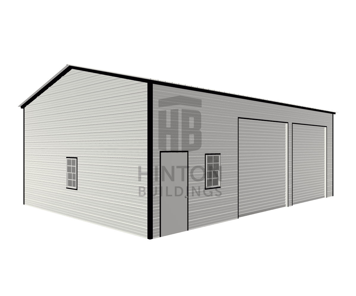 Paul from Mount olive, NC designed this 24x35x12 building with our 3D Building Designer.