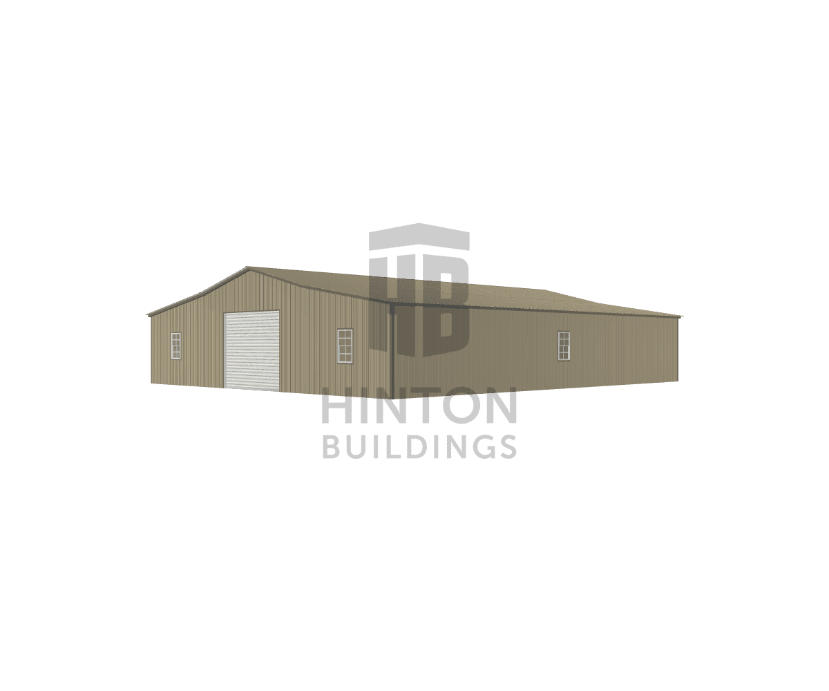 Bill from Maysville, NC designed this 18,12,12x50,50,50x10,8,8 building with our 3D Building Designer.