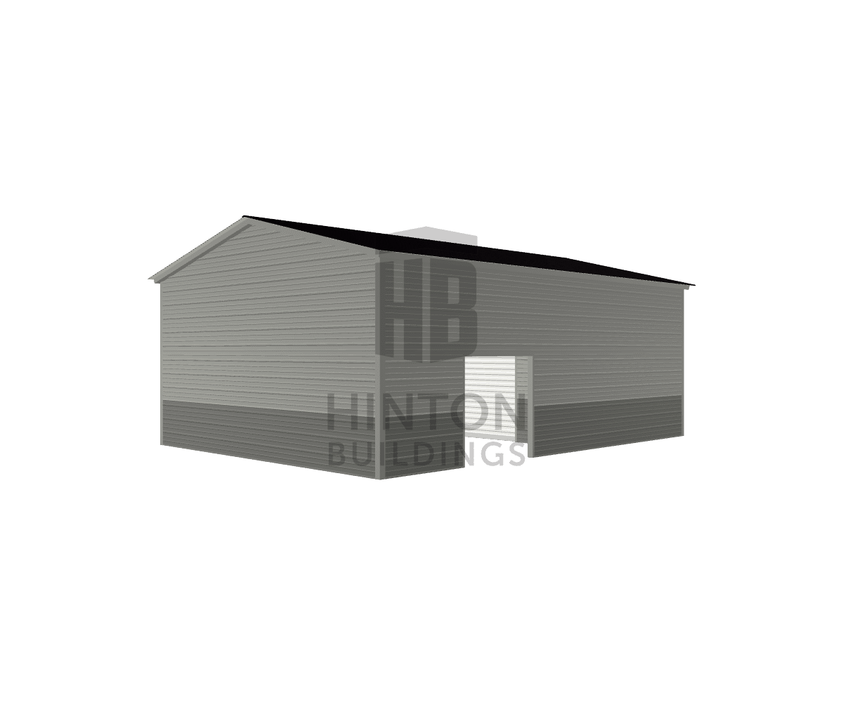 Tracie from Newport, NC designed this 18x25x9 building with our 3D Building Designer.
