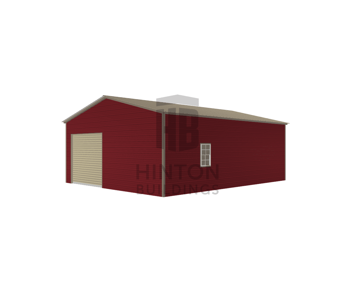 Teresa from Four Oaks, NC designed this 24x30x10 building with our 3D Building Designer.