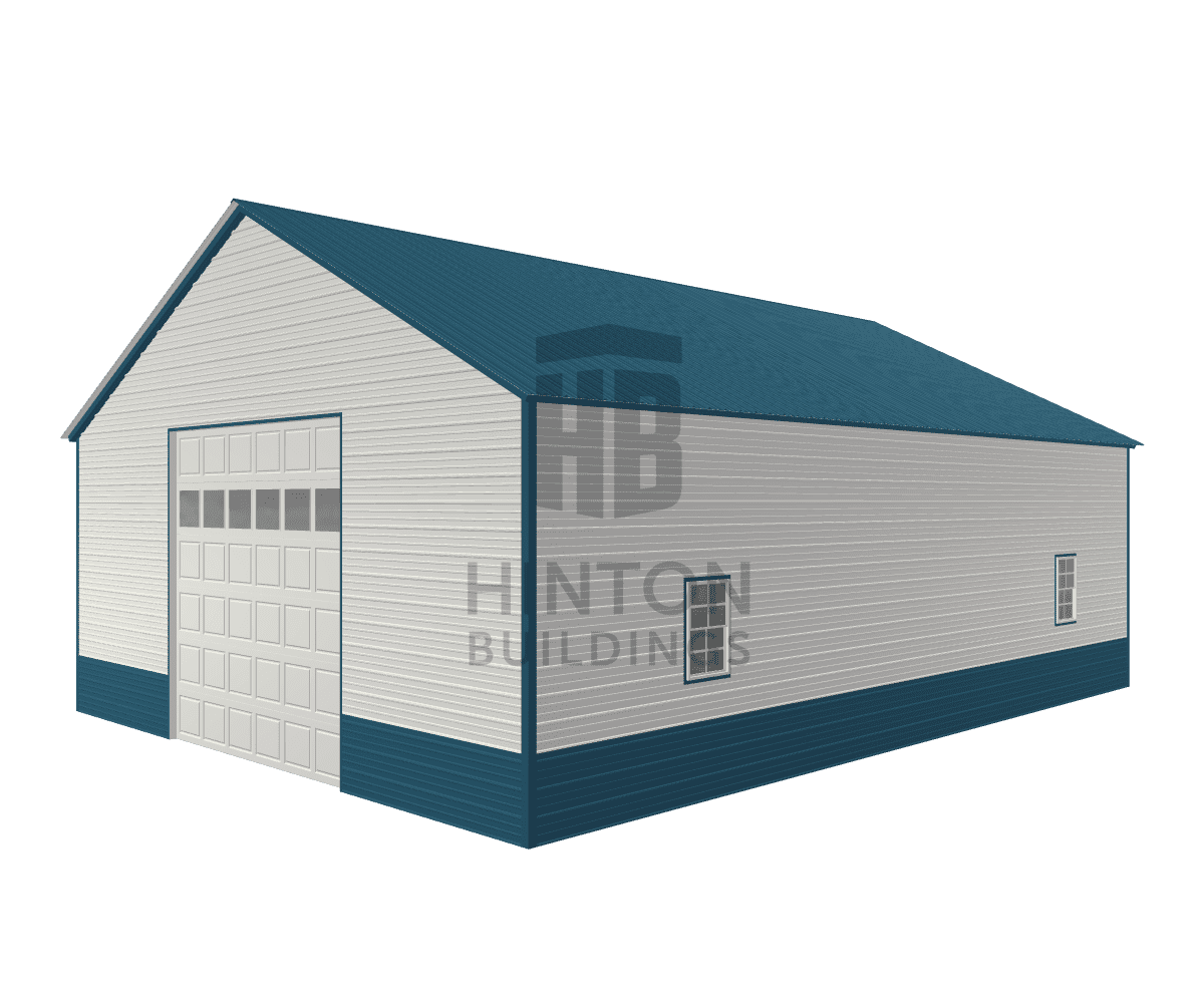 Dan from Mount Olive, NC designed this 30x40x12 building with our 3D Building Designer.