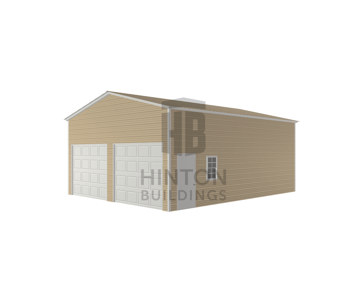 DeWayne from Fayetteville, NC designed this 24x30x12 building with our 3D Building Designer.