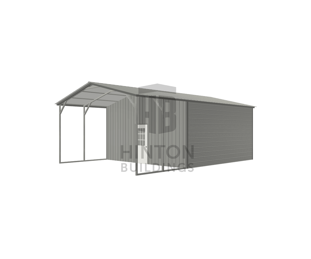 Sparky from Rocky Point, NC designed this 20x30x10 building with our 3D Building Designer.