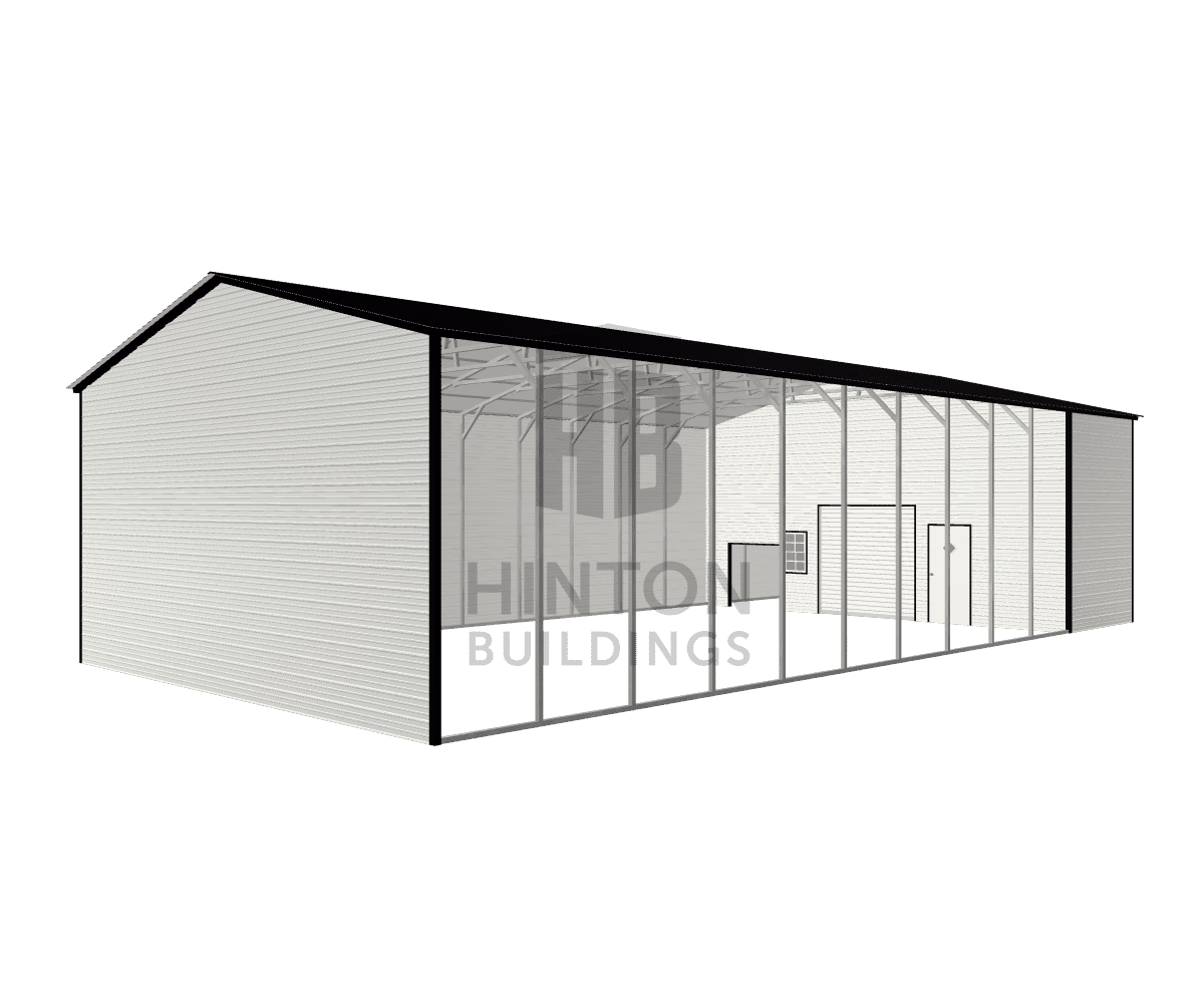 Gary from Kingstown, NC designed this 30x60x14 building with our 3D Building Designer.