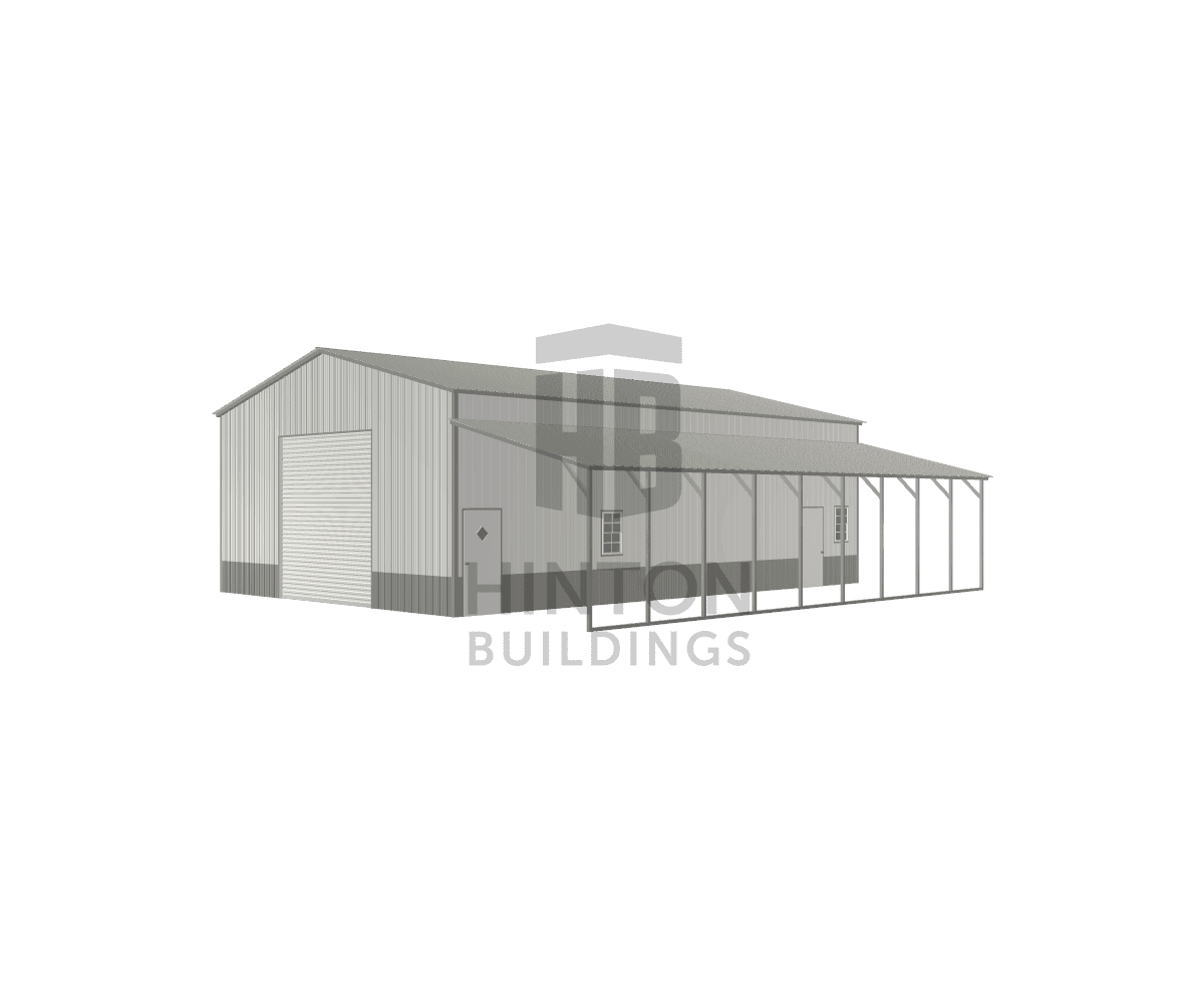 Trenton from Ruby, SC designed this 30,12x45,45x14,9 building with our 3D Building Designer.