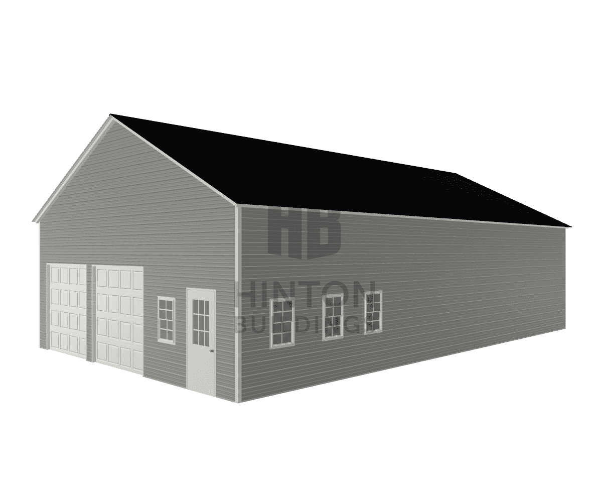 Mia from Clayton, NC designed this 30x50x12 building with our 3D Building Designer.