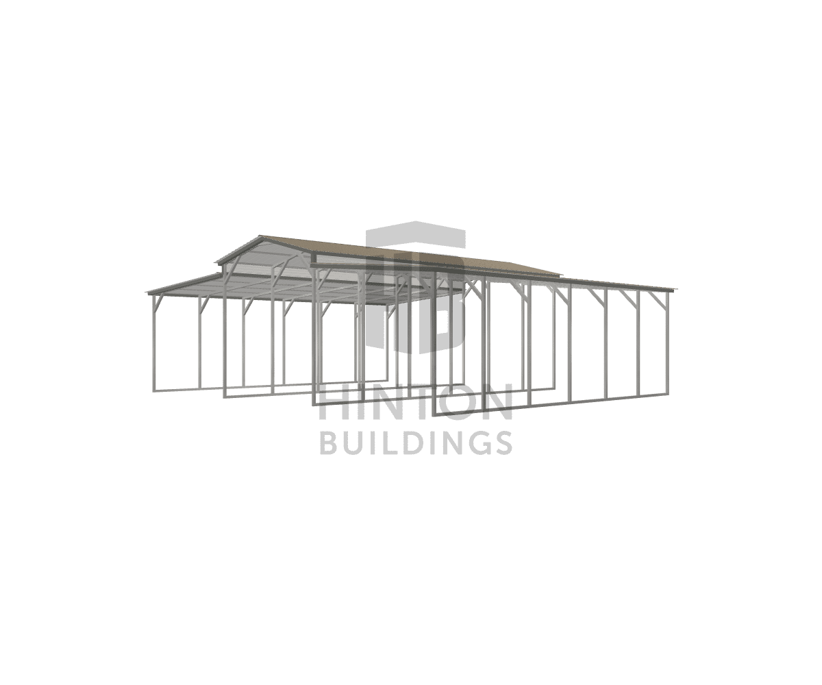 Bill from Maysville, NC designed this 12,12,12x30,30,30x11,9,9 building with our 3D Building Designer.
