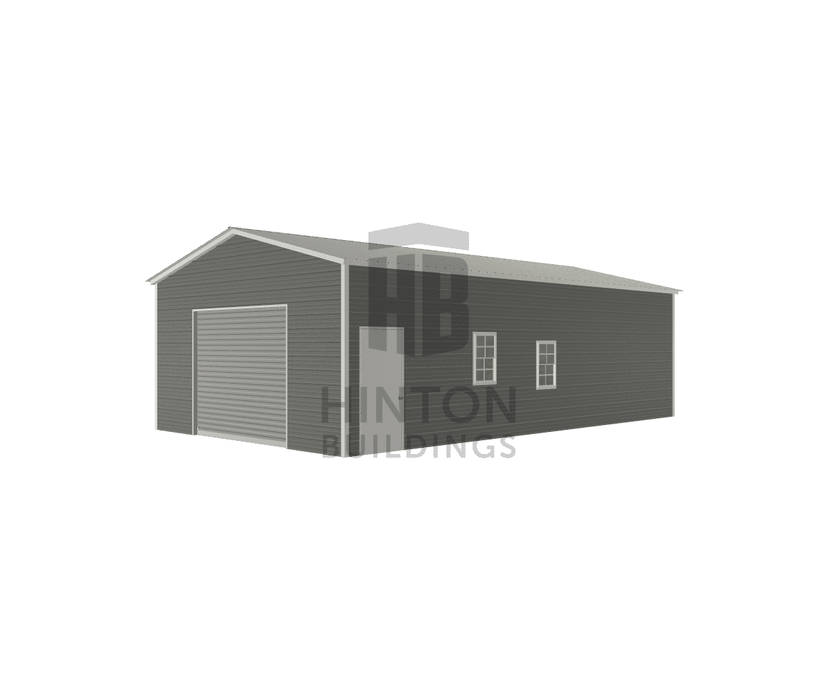 Mitzi from Selma, NC designed this 20x35x10 building with our 3D Building Designer.