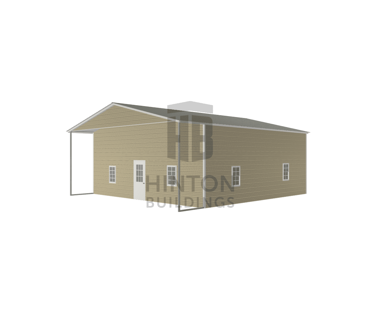 Elaine from B, NC designed this 30x35x12 building with our 3D Building Designer.