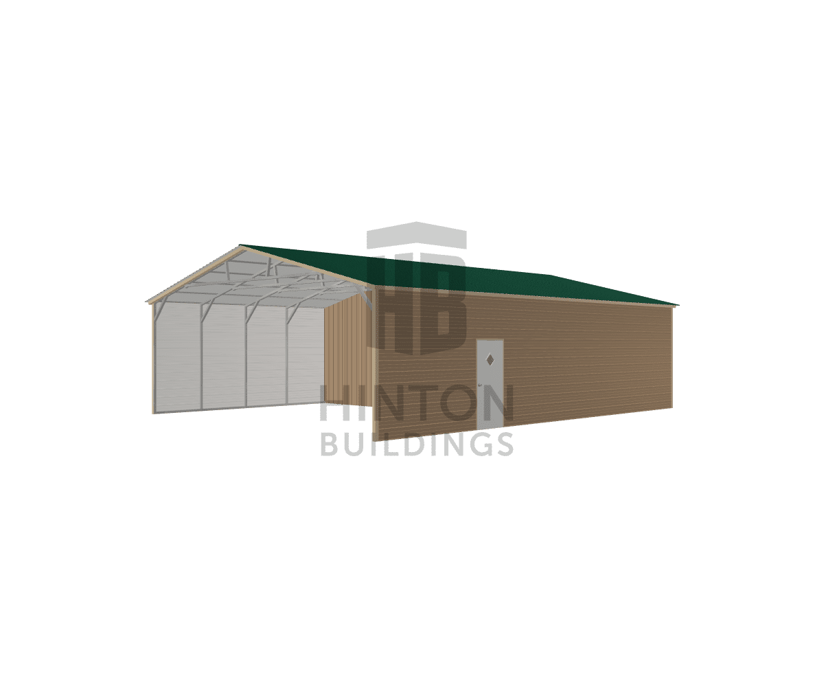 Jolene from Dunn, NC designed this 30x40x10 building with our 3D Building Designer.