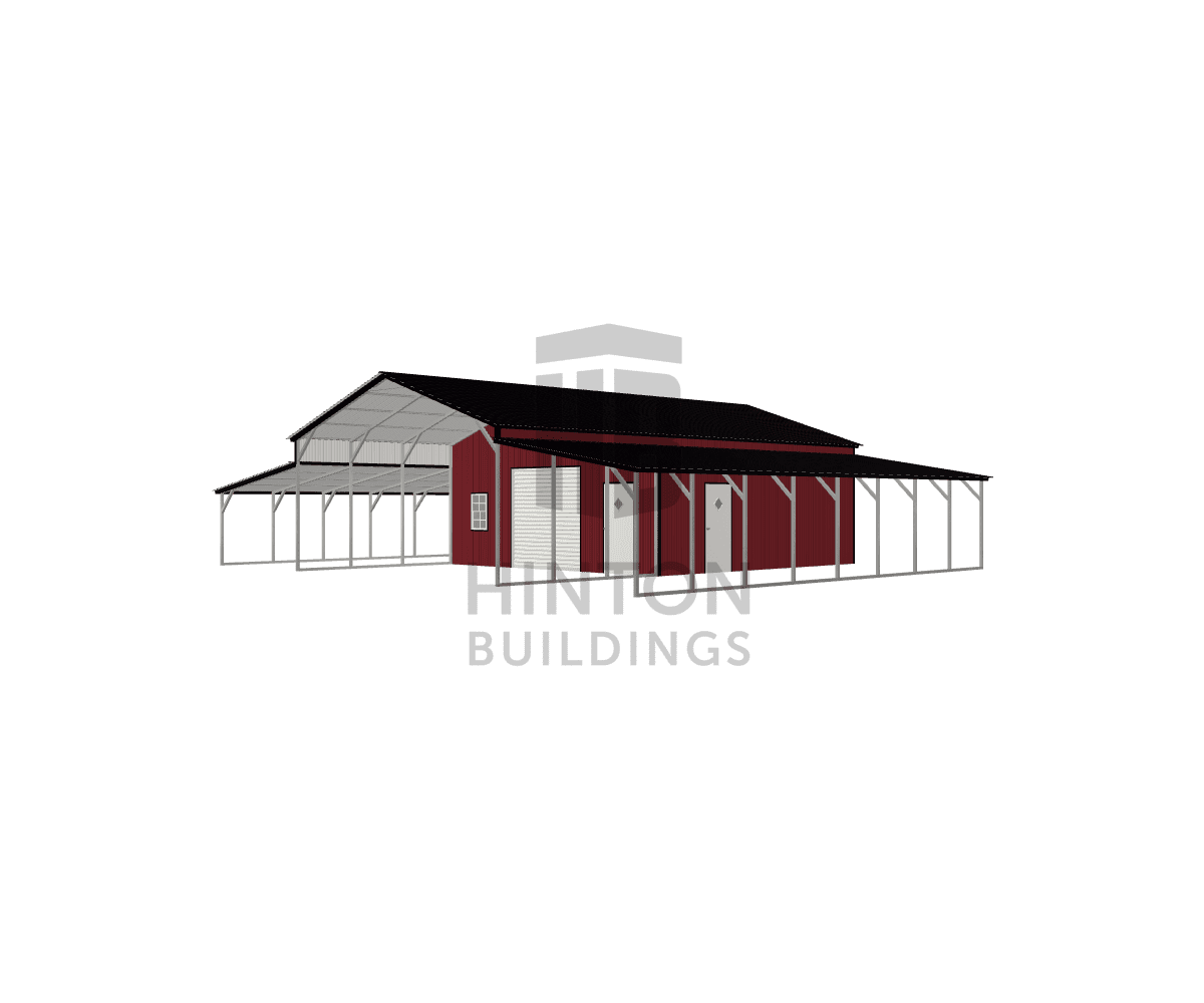 William from Rocky Mount, NC designed this 24,12,12x40,40,40x10,6,7 building with our 3D Building Designer.