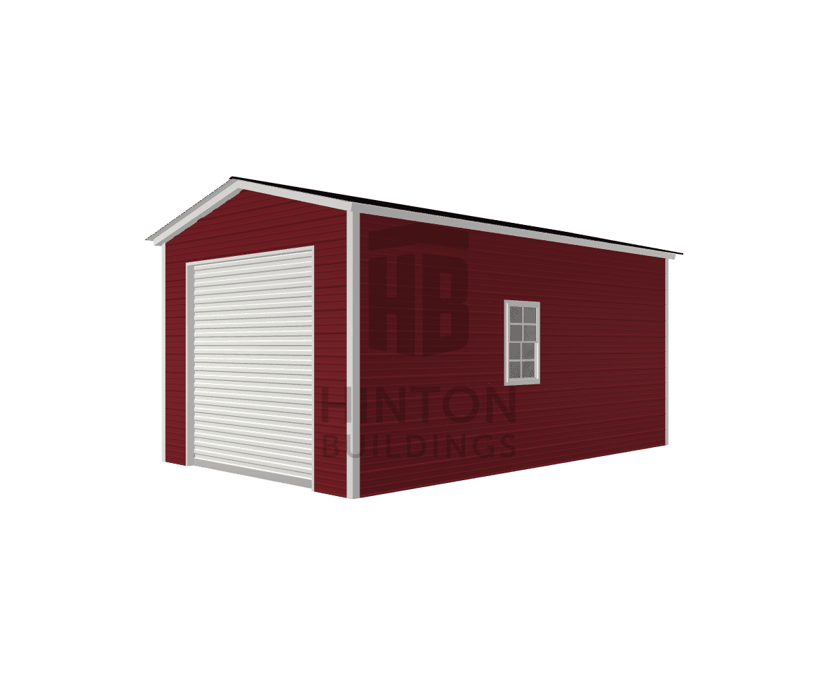 Matthew from Princeton, NC designed this 12x20x9 building with our 3D Building Designer.