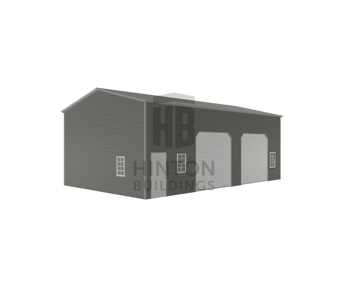 Jamie from Bailey, NC designed this 24x40x14 building with our 3D Building Designer.