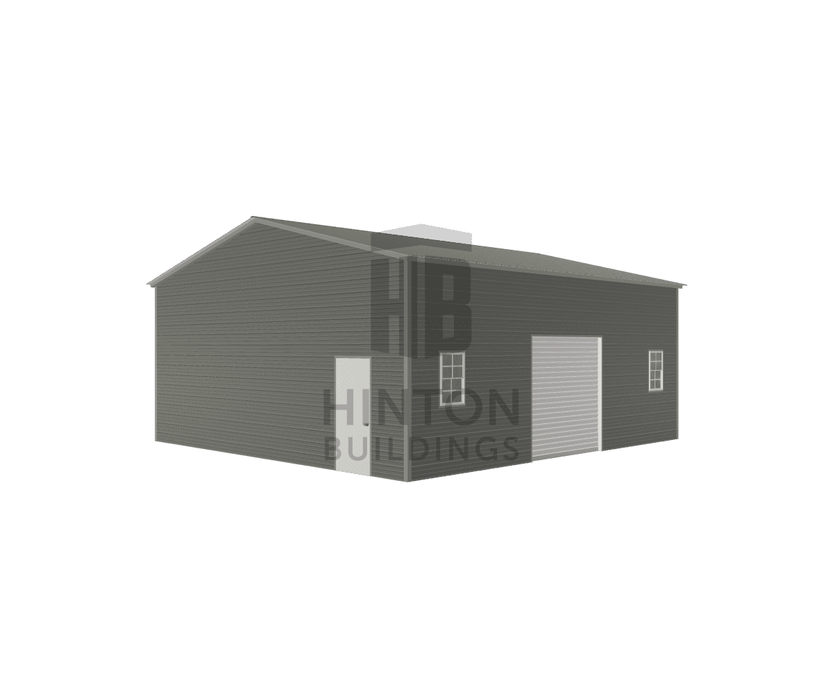 Rick from Stella, NC designed this 28x30x12 building with our 3D Building Designer.