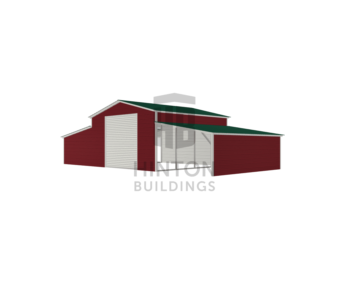 Devin from LILLINGTON, NC designed this 20,12,12x20,20,20x10,6,6 building with our 3D Building Designer.