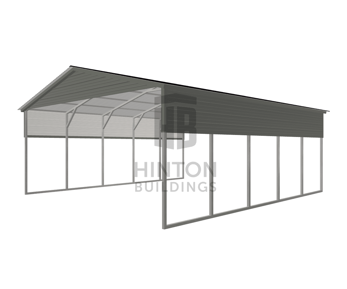 Matt from Franklinton , NC designed this 22x25x9 building with our 3D Building Designer.