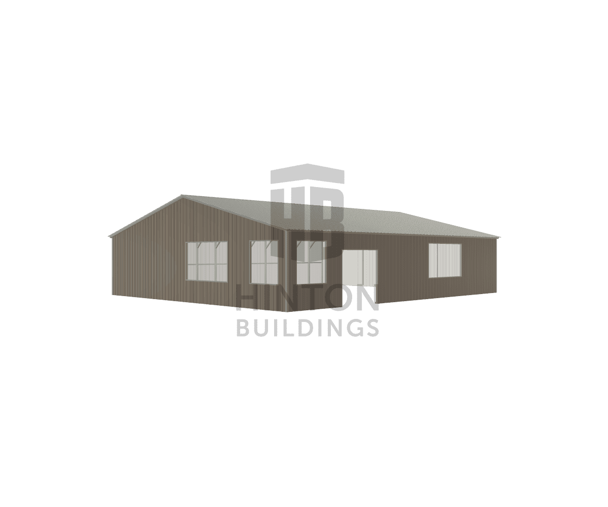Timothy from Goldsboro, NC designed this 40x48x9 building with our 3D Building Designer.