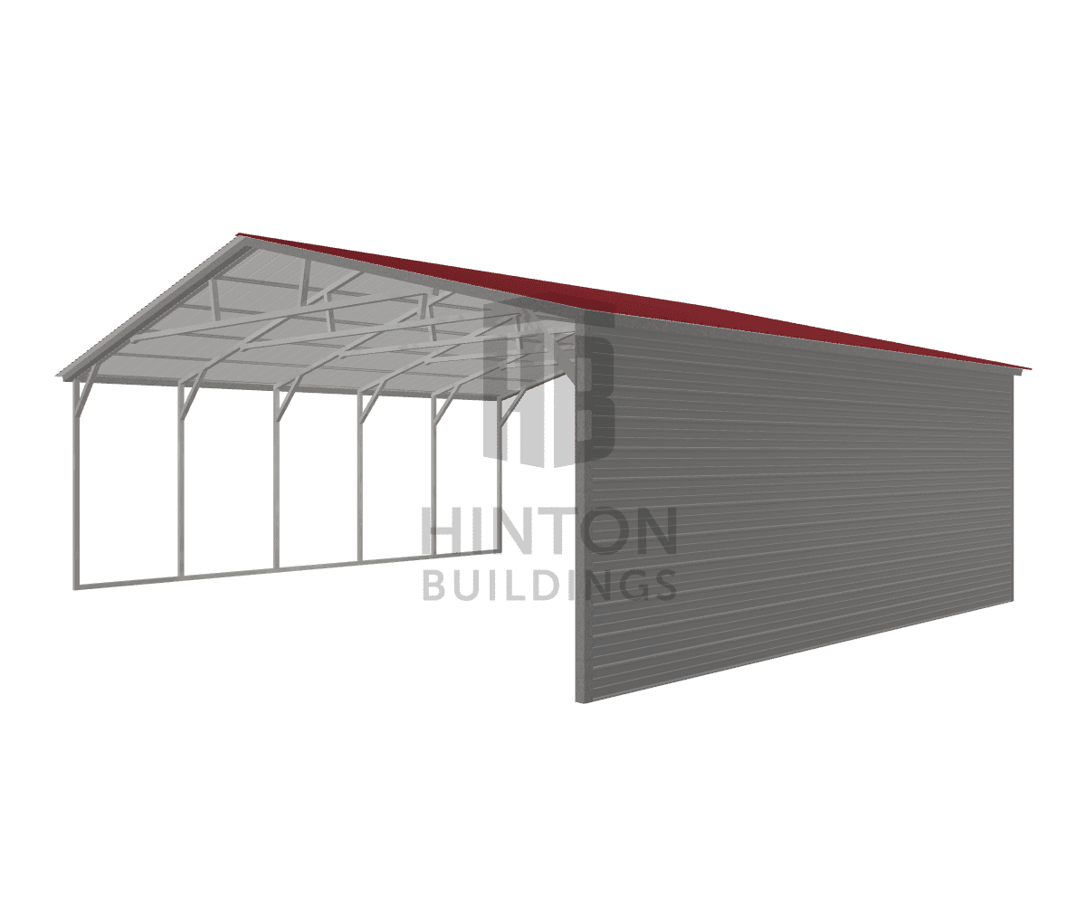 Bradley from Four Oaks , NC designed this 30x25x9 building with our 3D Building Designer.