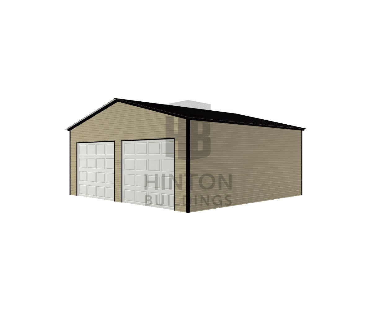 Laura from Clayton, NC designed this 26x25x10 building with our 3D Building Designer.