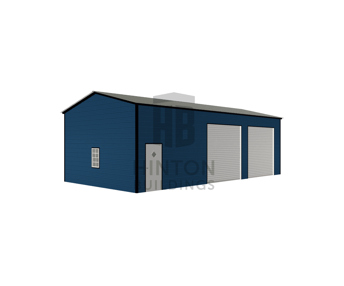 LANCE from Broadway, NC designed this 20x40x12 building with our 3D Building Designer.