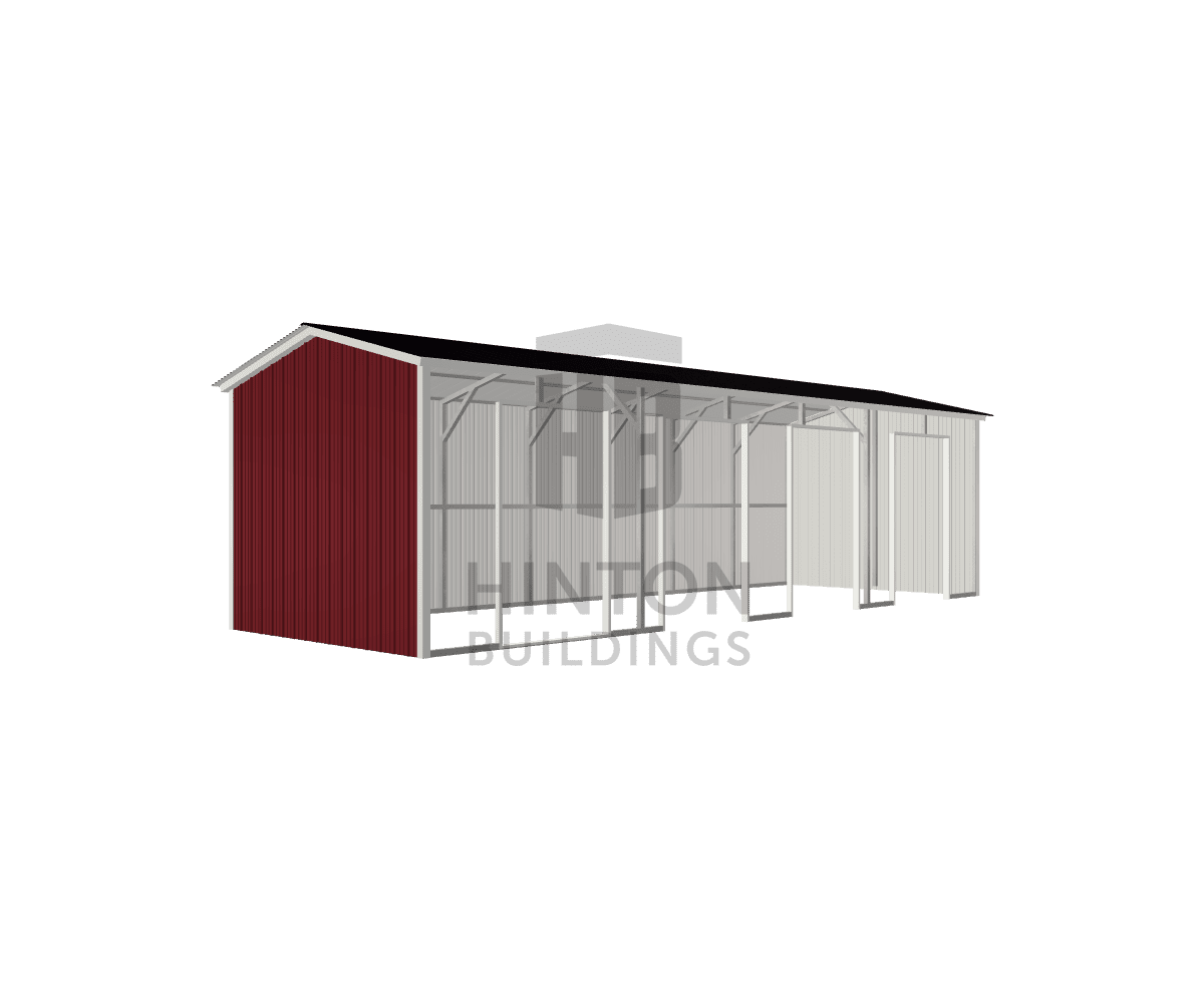 Chuck from Pikeville, NC designed this 12x35x9 building with our 3D Building Designer.