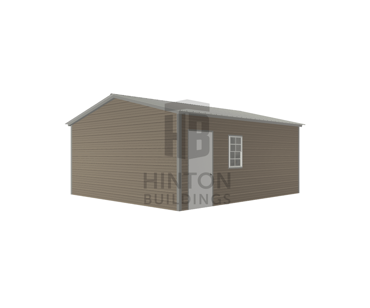 travon from Bunnlevel, NC designed this 18x20x8 building with our 3D Building Designer.