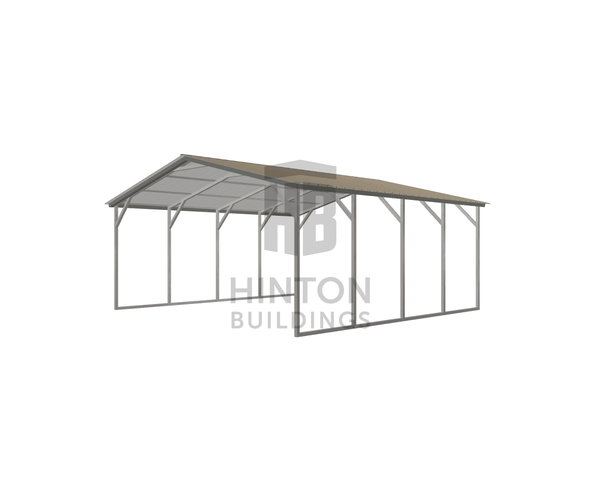 IdeaRoom Test Joe from Boise, ID designed this 20x20x8 building with our 3D Building Designer.