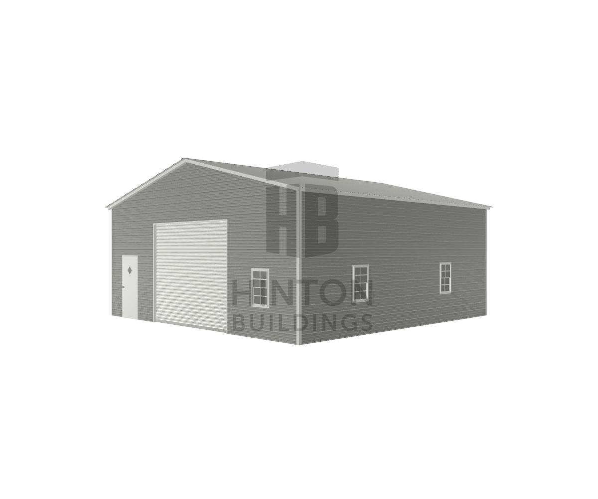 Brian from Pikeville, NC designed this 30x30x12 building with our 3D Building Designer.