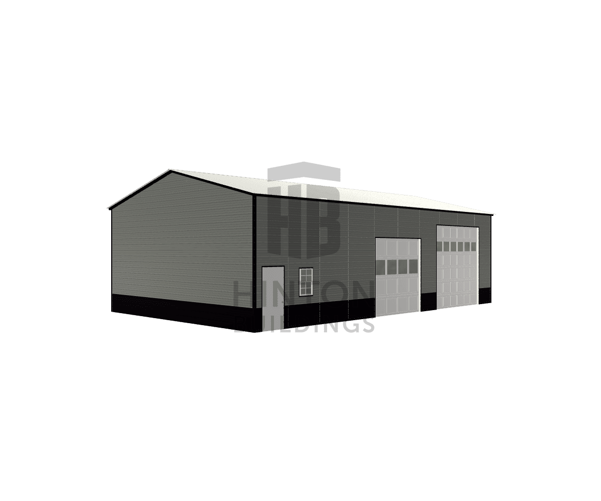 Aaron from YADKINVILLE, NC designed this 30x50x14 building with our 3D Building Designer.